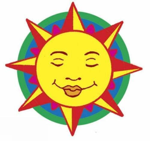Download Shiny Sun Moon Stars Stickers Dover Little Activity