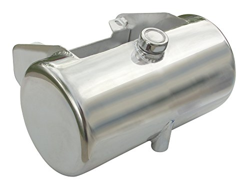 (3.5 Qt. Round Oil Tank for '84-'99 Softail¨ or Rigid Frames, Center Fill, Chrome Plated)