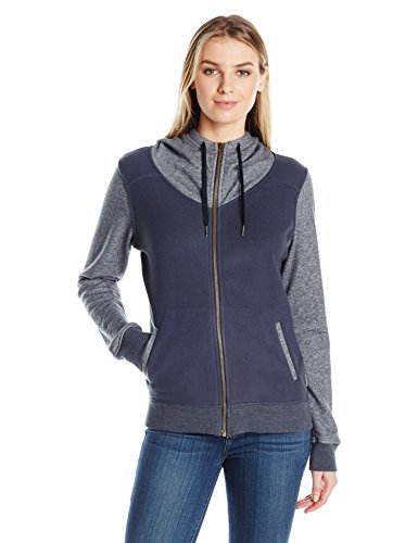 Columbia Women's Bonfire Bound Full Zip Hybrid Jacket, India Ink Large (Bonfire Women Jackets)
