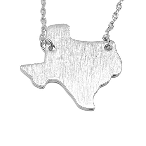 Spinningdaisy Handcrafted Brushed Metal Necklace