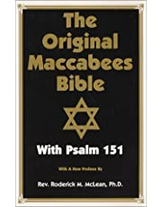 Original Maccabees Bible-OE: With Psalm 151