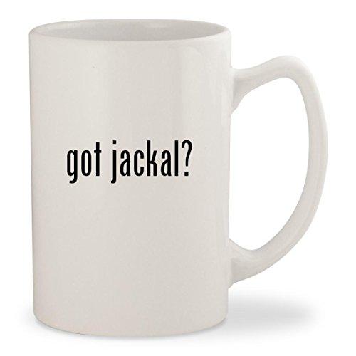 Halo Jackal Costume (got jackal? - White 14oz Ceramic Statesman Coffee Mug Cup)