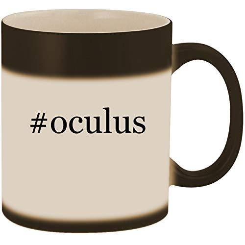 Price comparison product image #oculus - 11oz Ceramic Color Changing Heat Sensitive Coffee Mug Cup, Matte Black