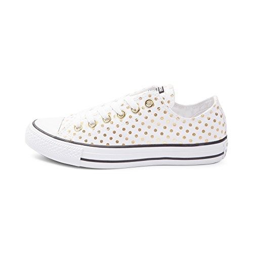 Converse ,  Sneaker donna Dots White/Gold 9440