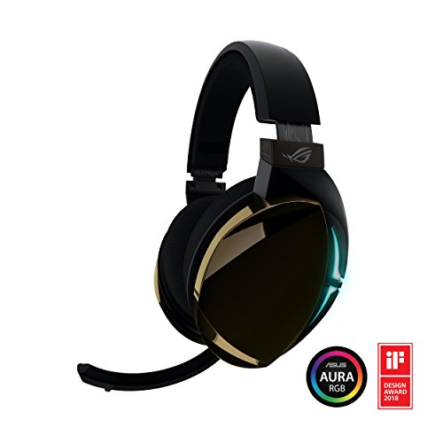 ROG Strix Fusion 500 Virtual 7.1 LED Gaming Headset with Hi-Fi Grade ESS DAC, ESS Amplifier, Digital Microphone and Aura Sync RGB - Digital Hi Fi