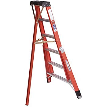 Werner Ftp6206 300 Pound Duty Rating Fiberglass Tripod