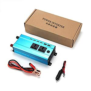 4000W Car Power Inverter Charger DC 12V/24V To AC 220V Sine Wave Converter Interfaces Voltage Transformer Adapter