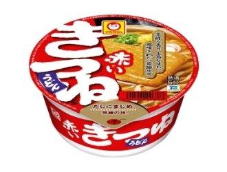 Maruchan - Akai Kitsune Instant Udon Bowl 3.39 Oz (Pack of 6)