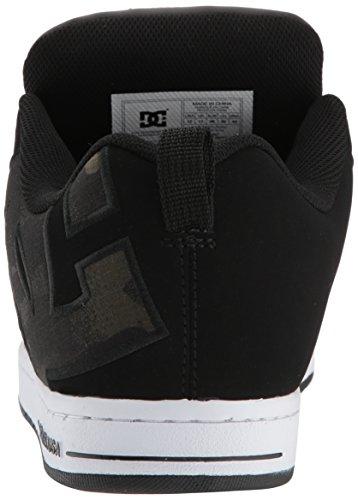 Graffik Mens Sneaker Nero mimetico Court Shoe Se Dc Shoes Uomo qE66p