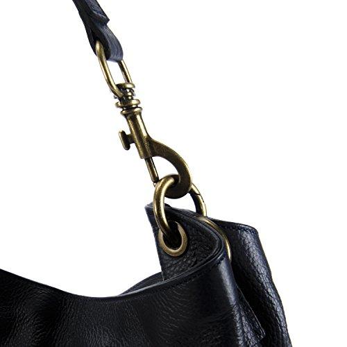 Main à femme cuir Sac Bleu Fonce Marceau Modèle BAG OH MY wAqTIB7
