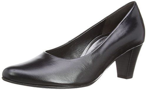 Gabor Beautiful 2 - Zapatos para mujer, color black leather, talla 40.5