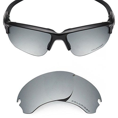 3daa5ae35e Mryok+ Polarized Replacement Lenses for Oakley Si Speed Jacket - Silver  Titanium by Mryok