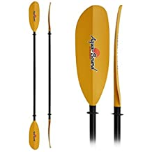 AquaBound Sting Ray Fiberglass 2-Piece Kayak Paddle - 230cm by AQUA BOUND