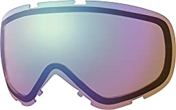 Smith Cadence Replacement Goggle Lens Blue Sensor Mirror, One Size