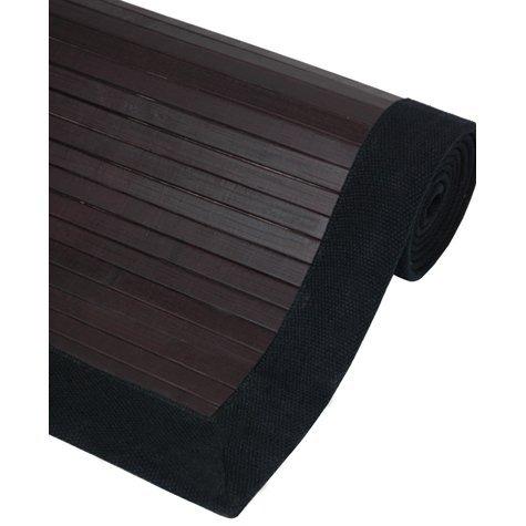 Oriental Furniture Bamboo Rug – Mocha – 5 x 8