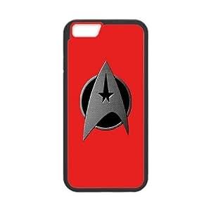 "Custom Case for iPhone 6 4.7"" w/ star trek logo image at Hmh-xase (style 10)"