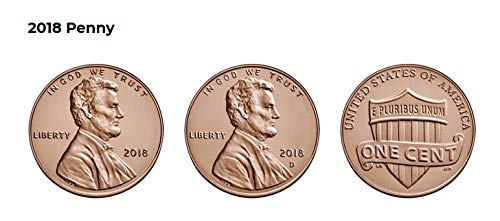 50 roll Box 2017 String Lincoln Cent Penny with Free Shipping D OBW  N.F