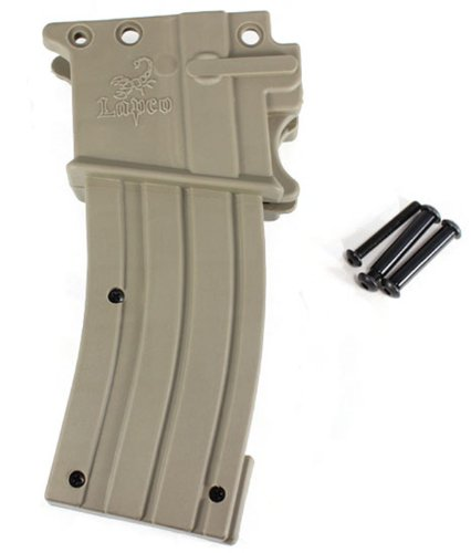 Lapco Paintball M4/M16 Gas-Through Magazine Tippmann A-5 SS Markers - Dark Earth (Gas Through Magazine)