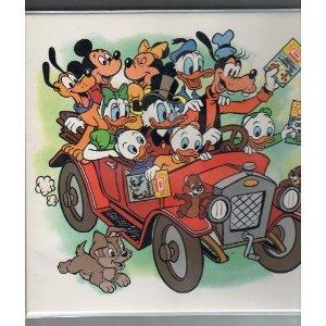 Walt Disney: Take-A-Tape Along 12 Books & Cassettes Album (Read Along Books and Cassette Tapes)