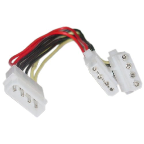 4-Pin Double Port With Wire Extension Cable Connector LED/RGB Strip Light - 5