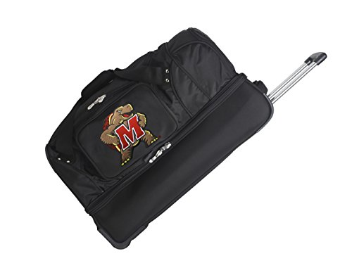picture of NCAA Maryland Terrapins Rolling Drop-Bottom Duffel