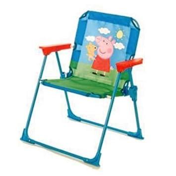 Peppa Pig Fold Away Patio Chair   Kids Indoor Fun Folding Chairs
