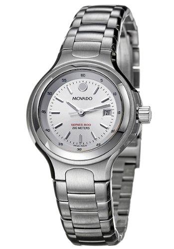 Movado Series 800 2600031 - Reloj de mujer de cuarzo, correa de acero inoxidable color plata: Movado: Amazon.es: Relojes