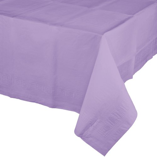 Creative Converting Paper Banquet Table Cover, Luscious Lavender