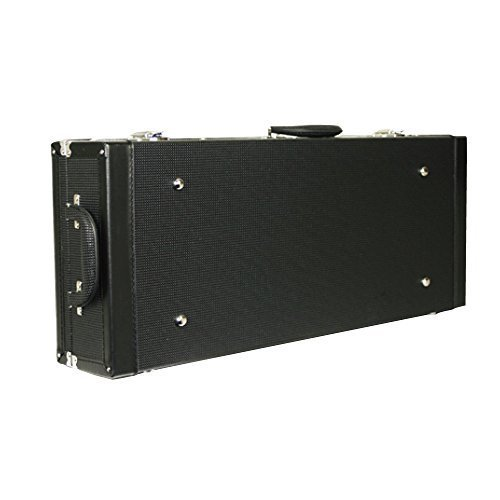Kala Acoustic U-Bass Rectangular Hard Case Black with Plush (Guitar Rectangular Case)