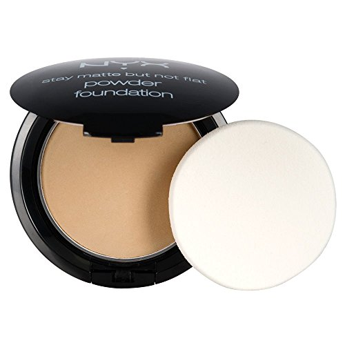 NYX PROFESSIONAL MAKEUP Stay Matte But Not Flat Powder Foundation, Medium Beige