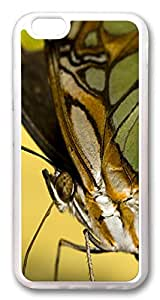 iphone 6 4.7inch Case iphone 6 4.7inch Cases Brown Butterfly Animal TPU Rubber Soft Case Back Cover for iPhone 6 Transparent