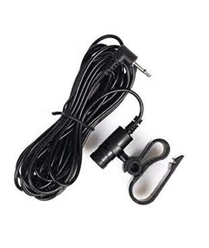 Awaqi Universal Microphone Mic 2.5mm for Car Vehicle Stereo Radio GPS DVD Bluetooth Enabled Head Unit Pioneer DEH-X6700BS AVH-X6500BT FH-X720BT MVH-X370BT DEH-X6700BT DEH-X4700BT AVH-X4600BT ()
