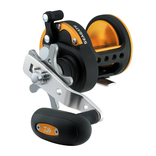 Daiwa SGT40H Seagate Star Drag Saltwater Reel, 40, 6.4 1 Gear Ratio, 6CRBB, 1RB Bearings, 19.80 lb Max Drag, Right Hand