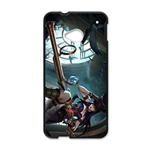 League of Legends Caitlyn HTC One M7 Cell Phone Case Black GTF6329691382245