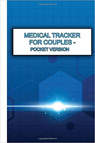 medical tracker for couples pocket version health history records