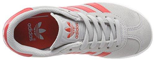 2 Metallic red Scarpe C gold Adidas Grau Low clear top Gazelle Bambino Cf Onix Oqww51Z