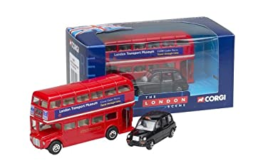 6b6863047 Corgi London Routemaster Bus & TX1 London Taxi Gift Set: Amazon.co ...