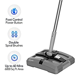 Rechargeable Cordless Floor Sweeper