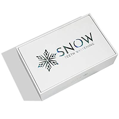 Snow Teeth Whitening At Home System - The Original All In One Kit For Regular and Sensitive Teeth - Safe For Braces, Enamel, Veneers, And Crowns