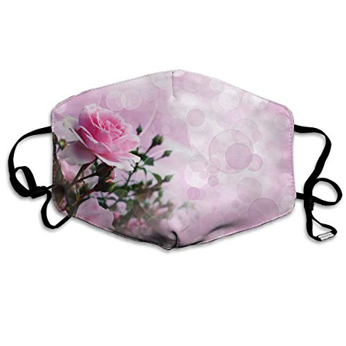Sam-Uncle Anti Dust Face Mouth Cover Mask Pink Rose Anti Pollution Breath Healthy Mask
