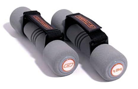 Reebok Soft Grip - Mancuernas, 2 x 1kg: Amazon.es: Deportes y aire ...