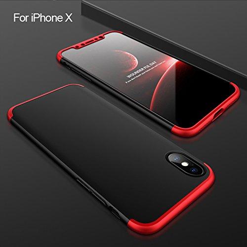 360° iPhone X Case Ultra Slim Scratch Resistant iPhonex Protector Bumper Cover - Pheonix Malls