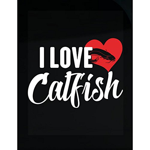 I Love Catfish Fish Fishes Pet Lover Gift - Sticker (Pet Catfish)