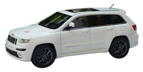 1/43 ジープ グランド チェロキー SRT8 2012 ホワイト GLM43108502