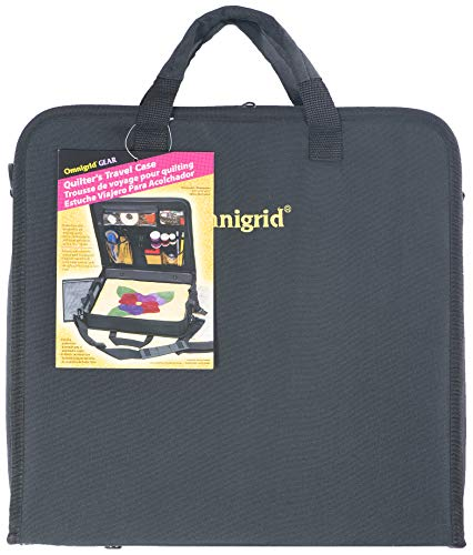 Omnigrid Quilters Travel case, Black