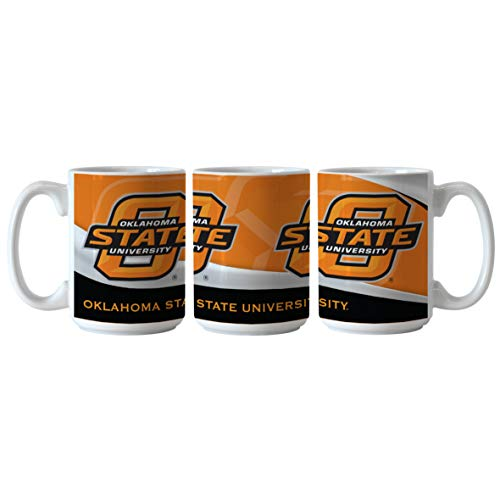 (Boelter NCAA Oklahoma State Cowboys 15oz Wave Mug)