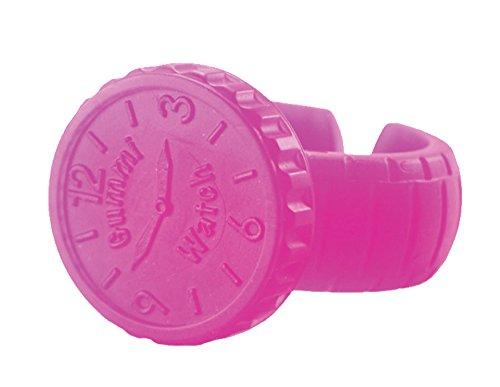 KidKusion Gummi Teething Watch, Pink