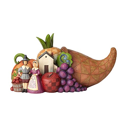 (Enesco Jim Shore Heartwood Creek Harvest Feast from The Farm Cornucopia, 5.5