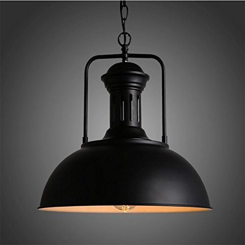 Retro Dark Rust Pendant (The Clothing Shop Pendant Lights Industrial Wind Cafe Internet Cafe Restaurant Pan American Retro Chandelier 400400Mm,Rust)