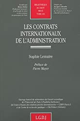 Les contrats internationaux de l'administration